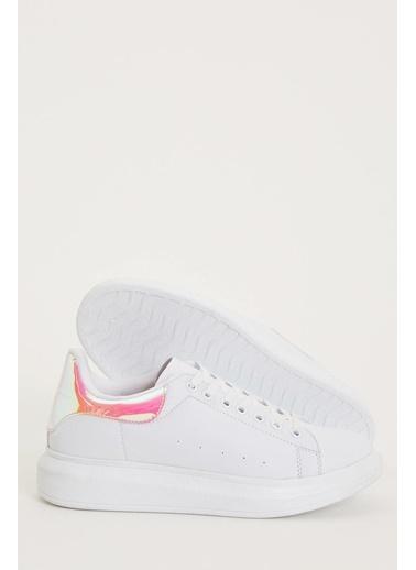 DeFacto Bağcıklı Spor Ayakkabı Pembe